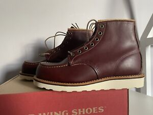 Red Wing CLASSIC MOC TOE BOOTS 8856 Size UK 6.5