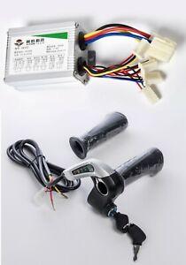 Razor E300 upgraded Hand Throttle+Key+Controller electrical kit 36 Over Volt Kit