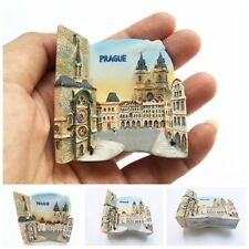 Old Town Hall and Astronomical Clock Prague, Czech Republic 3D Resin Magnet Gift