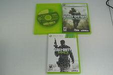 CALL OF DUTY LOT For Microsoft Xbox 360 MW3 ADVANCED WARFARE 4 MODERN