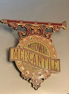 Disney Pin:  WDI - Midway Mercantile Sign