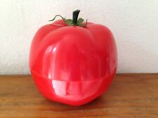 très beau   BAC à Glaçons  tomate rouge  Seau à glace an 70's