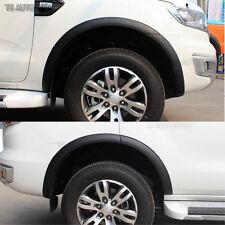 Matte Black Fender Flares Wheel Arch 3 Inch  Ford Everest SUV 2.2 3.2 2016 17