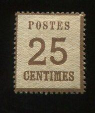 Al7) AD NDB Alsace Lorraine MiNr 7I B * UNUSED