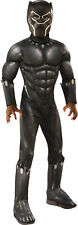 Deluxe Muscle Black Panther Child Costume NEW