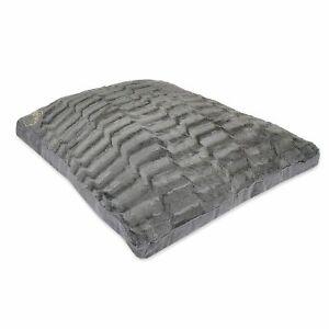LARGE & Extra Large  Fur Dog Bed -Pet Washable Zipped Mattress Cushion