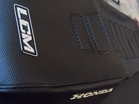 SEAT COVER , HONDA AFRICA TWIN 750 XRV, GRIPPER, EXCELLENT QUALITY!