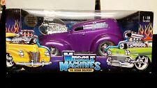 Muscle Machines 40 Sedan Delivery Purple 1:18 Funline Mint in box