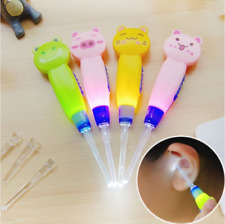 Baby Safety Ear Pick Spoon Light LED Curette Ear Pick Ear Wax Pick Remover Tool