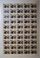 Italia 1975 Salvo D'Acquisto 100 lire Foglio Intero   MNH**