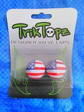 American Flag Valve Caps For Cars, Bikes, And Motorcycles