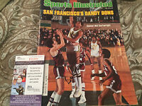 SPORTS ILLUSTRATED MAGAZINE SIGNED WITH JSA COA  BILL CARTWRIGHT SAN FRAN DONS