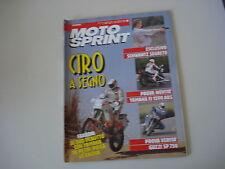 MOTOSPRINT 43/1990 YAMAHA FJ 1200 ABS/BETA TR 35 TR35 50/MOTO GUZZI SP 750