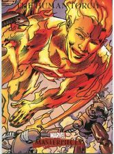 Marvel Masterpieces 2007 Base Card #38 The Human Torch