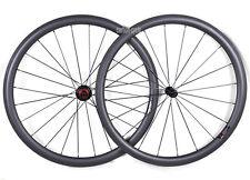38mm Road Bike Wheels Carbon Clincher 700C Bicycle Rims Chosen 3k Matt 11s