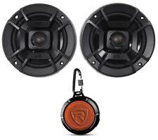 """(2) Polk Audio DB522 5.25"""" 600w Car/Marine/Motorcycle Speakers+Speaker"""