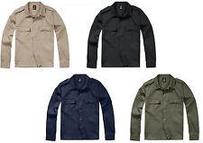 Brandit Langarm Safarihemd US Hemd Armyhemd Herrenhemd Arbeitshemd Freizeithemd