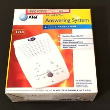 AT&T Digital Answering Machine System Home Office Call Screening