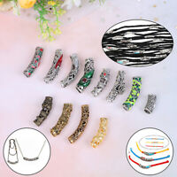 Dreadlock Hair Beads Dread Beads Hair Braid Pins Rings Clips DIY Cuff Jewelr RAS