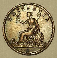1850's Half Penny Trade Token - Alfred Nicholas - Hobart Town - Tasmania