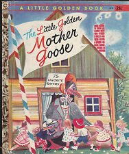 The Little Golden Mother Goose Little Golden Book #472 5th Print Rojankovsky