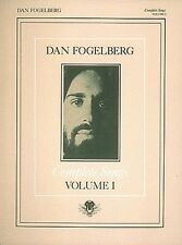 Dan Fogelberg Complete Songs Volume 1 Sheet Music Piano Vocal Guitar S 000356811