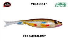 "VIRAGO 4"" MOLIX  COLORE #56 NATURAL BAIT"