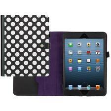 iPad Mini 2 Polka Dot Case/Cover by Griffin - Black/White/Purple