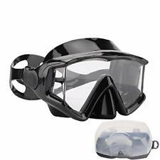 Scuba Snorkeling Dive Mask for Scuba Diving Snorkeling Free Pc Lens Black