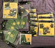 John Deere Party Supplies * Lot of 17 Sealed Pkgs * Hats Invitations  111 items