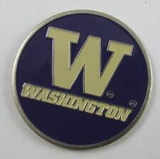 5 NCAA Collegiate Golf Ballmark Ballmarker Ball Mark Washington Huskies Purple