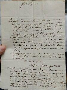 1860 116) SARSINA: IL VESCOVO MASACCI INVITA A NON FESTEGGIARE L'UNITA' D'ITALIA