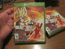 Dragon Ball XenoVerse Xbox One BRAND NEW FACTORY SEALED