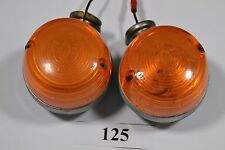 DUCATI 350 GTL GTV 500-FRECCE 2 pezzi-turn light signals INDICATORS