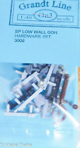 Grandt Line On3 #3008 SP Low All Gon Hardwere Set (Plastic Parts)