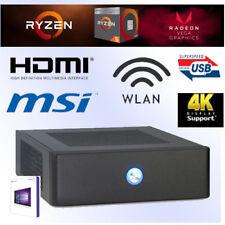 Mini PC-Ryzen5 2400G-8GB DDR4 RAM-240GB SSD-VEGA11-Windows 10 Pro-HDMI-WLAN