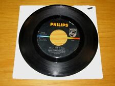 "60s ROCK 45 RPM - DUSTY SPRINGFIELD - PHILIPS 40396 - ""ALL I SEE IS YOU"""