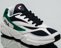 Fila Women's Venom Low Lifestyle Shoes White Navy Green New Sneakers 1010291-00Q