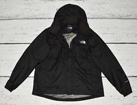 THE NORTH FACE Women's Damen Schwarz Black Full Zip Hoodie HyVENT !  size XL