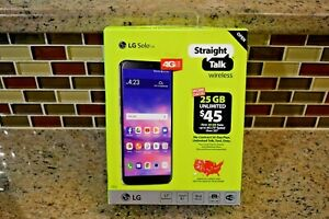 "NEW Straight Talk LG Solo L423DL Prepaid Smartphone- Android, 4G LTE, 5.7"", 16GB"