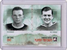 TED KENNEDY BILL DURNAN 11/12 ITG Forever Rivals Playoff Matchups #PM-07 Insert