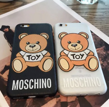 Uksel Moschino caso iPhone 11 Pro Max XS Max XR 5 X 5s SE 7 8 Plus 6 6 splus En Caja