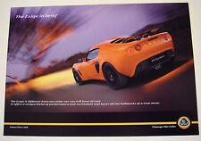 Lotus . Exige . Exige in brief . 2007 Sales Leaflet