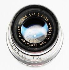 Som Berthiot 50mm f3.5 Cinor C mount  #901130