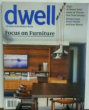 Dwell October 2016 Focus on Furniture FREE SHIPPING