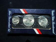 1976 USA set 3 silver COINS 1/half/quarter dollar UNC 200th Independence