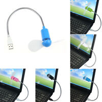 Flexible USB Mini Fan Cooling Fan Cooler For Laptop Desktop PC Computer Fan New
