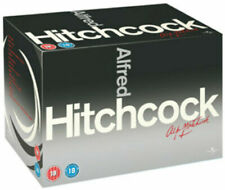"ALFRED HITCHCOCK THE COMPLETE MOVIE COLLECTION 14 DISC DVD BOX SET R4 ""NEW"""
