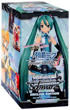 WEISS SCHWARZ Project DIVA f ENG EDITION BOX 20 PACKS SEALED NEW RARE