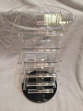 "Rotating Earring Display- 4 Sides - Brand New in Box 13 1/2"" Tall"